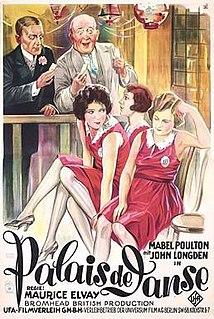 <i>Palais de danse</i> (film) 1928 film