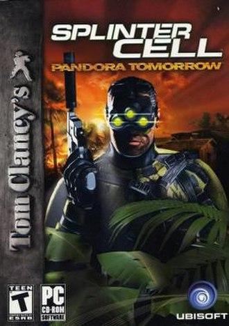 Tom Clancy's Splinter Cell: Pandora Tomorrow - Image: Pandora Tomorrow box art