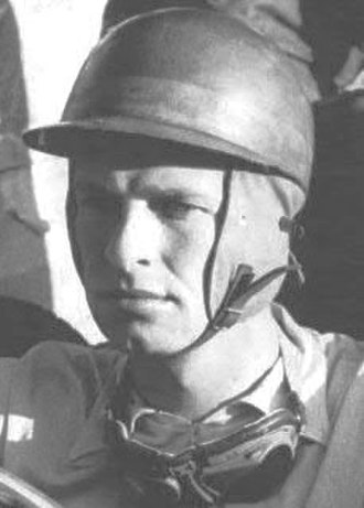 Peter Collins (racing driver) - Image: Peter Collins car racer