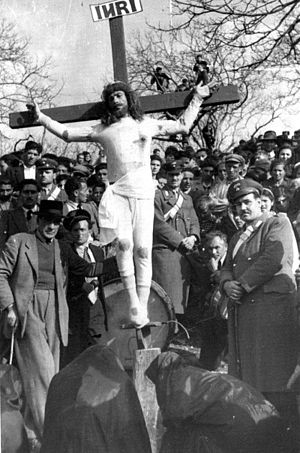 "Christ crucified from the ""Pigliata""..."