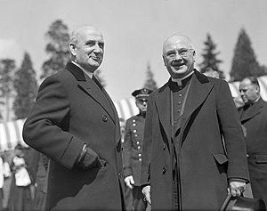 Boston Police Department - Police Commissioner Thomas F. Sullivan (left), 1944