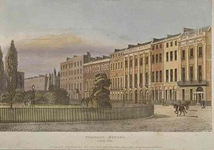 Portman Square - Portman Square in 1813
