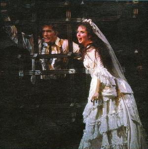 The Phantom of the Opera (1986 musical) - Steve Barton and Sarah Brightman in the final scene