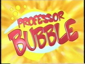 Professor Bubble (TV series) - Image: Professor Bubble Logo