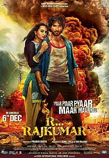 <i>R... Rajkumar</i> 2013 film by Prabhu Deva