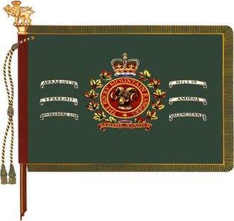 Rocky Mountain Rangers - The regimental colour of The Rocky Mountain Rangers.