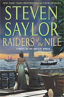 <i>Raiders of the Nile</i> book by Steven Saylor