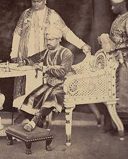Ramachandra Tondaiman Raja of Pudukkottai