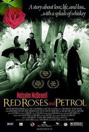 Red Roses and Petrol - Theatrical release poster
