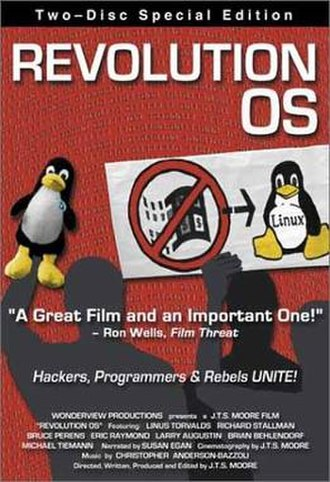 Revolution OS - Promotional poster for two disc edition of Revolution OS