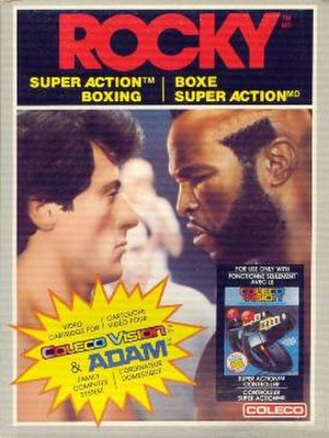 Rocky Super Action Boxing - Image: Rocky Super Action Boxing Cover