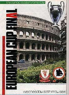 dc27aa8bb Roma1984a.jpg. Match programme cover. Event