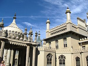 Brighton and Hove - Royal Pavilion, Brighton