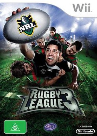 Rugby League 3 - cover art