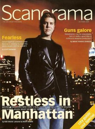 Scanorama - The October 2005 issue of Scanorama with Fredrik Eklund on the cover