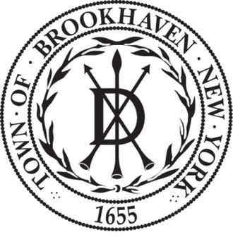 Brookhaven, New York - The Dongan seal of Brookhaven, in use since 1686