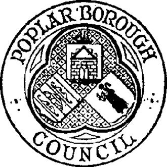 Metropolitan Borough of Poplar - Seal of the Metropolitan Borough of Poplar