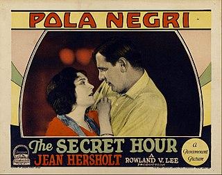 <i>The Secret Hour</i> (film) 1928 film by Rowland V. Lee