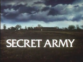 Secret Army (TV series) - Main title caption as seen throughout the series.