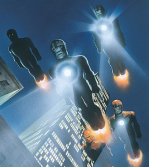 Sentinel (comics) - Art by Alex Ross