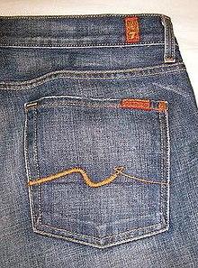 7 For All Mankind s Original pocket stitching e8148f4e3
