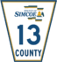 Simcoe Road 13 sign.png