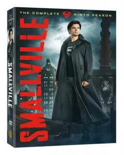 <i>Smallville</i> (season 9) Season of television series