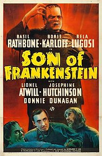 <i>Son of Frankenstein</i> 1939 film by Rowland V. Lee
