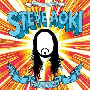Wonderland (Steve Aoki album) - Image: Steve Aoki Wonderland Cover