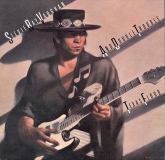 Brad Holland (artist) - Image: Stevie Ray Vaughan Texas Flood