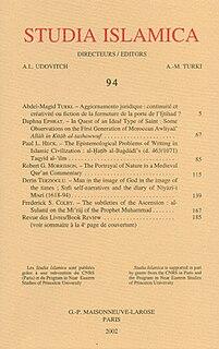<i>Studia Islamica</i> journal