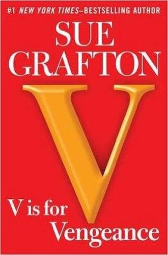 """""""V"""" Is for Vengeance - Image: Sue Grafton V Is for Vengeance"""