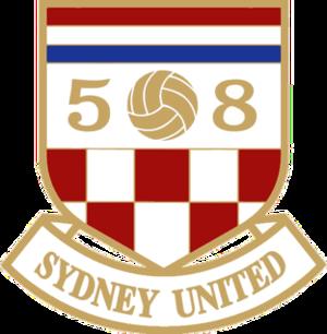 Sydney United 58 FC - Image: Sydney United FC