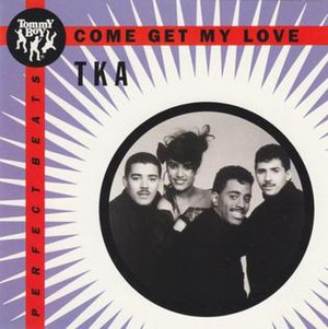 Come Get My Love - Image: TKA Come Get My Love Maxi Single