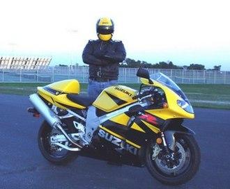 Suzuki TL1000R - Image: TL1000R Y B