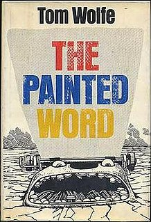<i>The Painted Word</i> book by Tom Wolfe