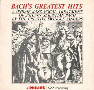 Bach's Greatest Hits - Image: The Swingle Singers Bachs Greatest Hits