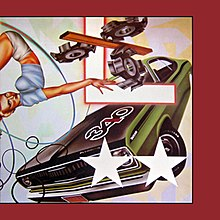 The album cover for Heartbeat City, one of The Cars' most successful and well known albums.