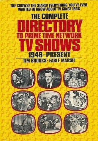 The Complete Directory to Prime Time Network and Cable TV Shows 1946–Present - Image: The Complete Directory to Prime Time Network and Cable TV Shows 1946–Present