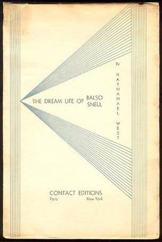 The Dream Life of Balso Snell - 1931 first edition cover