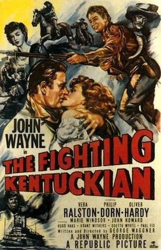 The Fighting Kentuckian - Original cinema poster