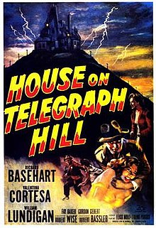 Image result for images from the house on telegraph hill 1951