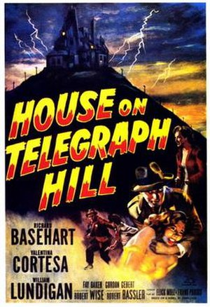 The House on Telegraph Hill - Theatrical release poster