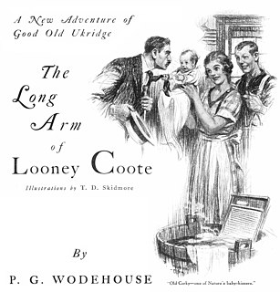 The Long Arm of Looney Coote 1923 short story by P. G. Wodehouse