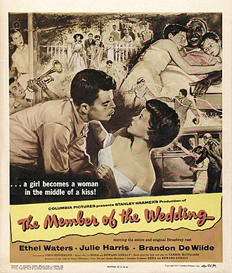 The Member of the Wedding (film) - Image: The Member of the Wedding Poster