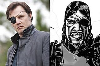 The Governor (<i>The Walking Dead</i>) The Walking Dead character