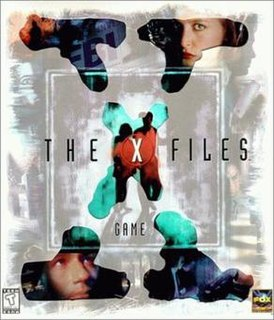 <i>The X-Files Game</i> 1998 video game