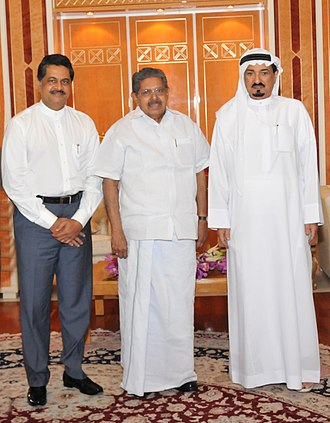 Humaid bin Rashid Al Nuaimi - Al Nuami (far right)