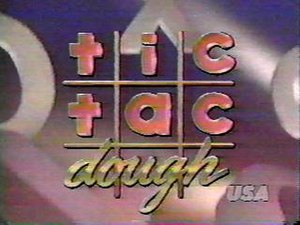Tic-Tac-Dough - The logo from the 1990 syndicated version.