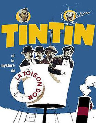 Tintin and the Golden Fleece - Theatrical poster